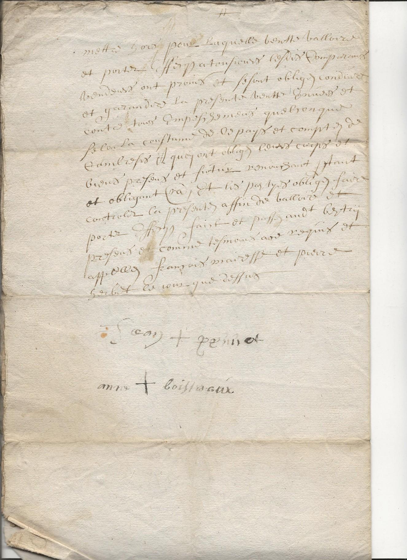 1697 acte concernant jean pruvot 3