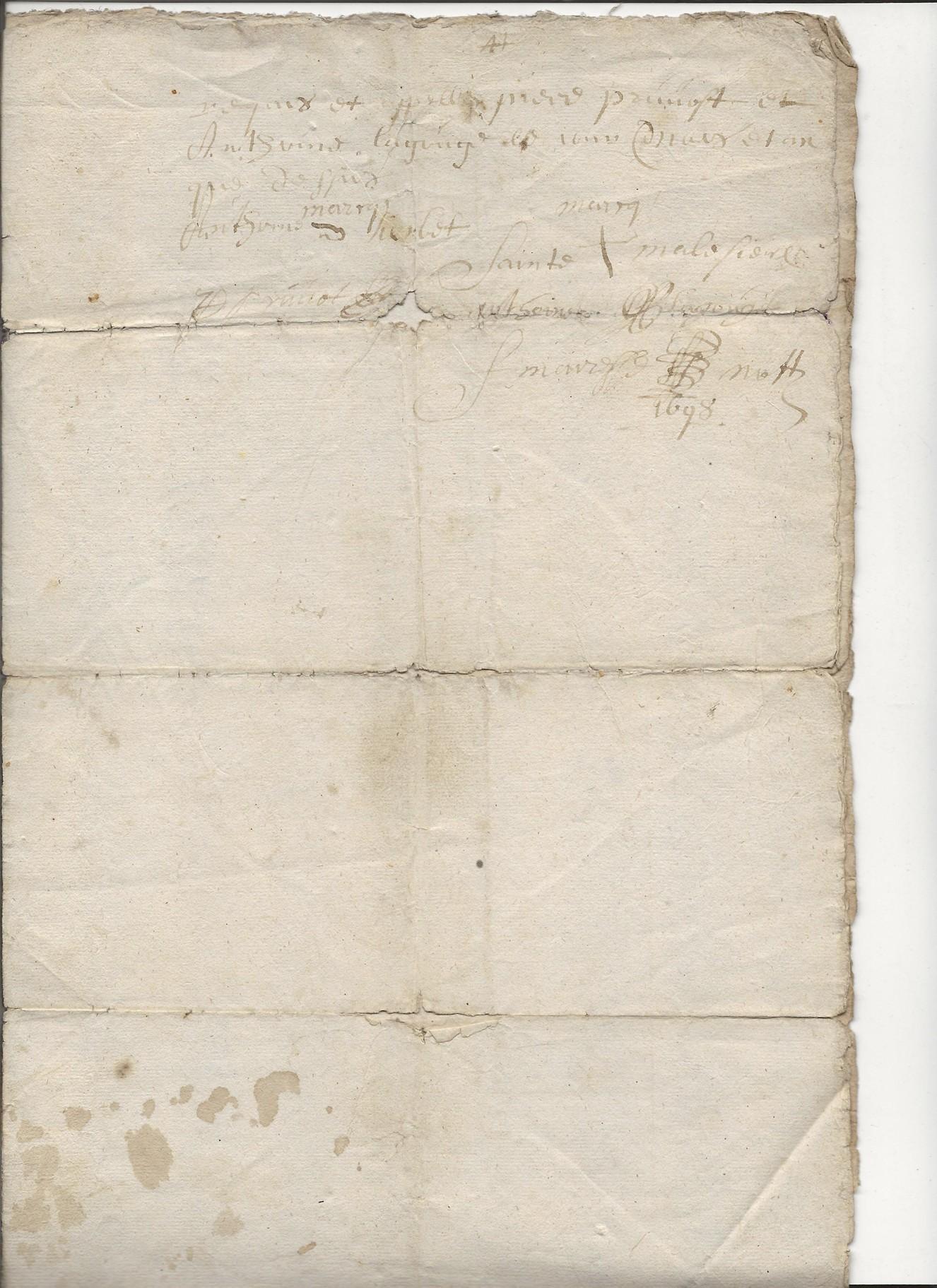 1697 acte concernant jean pruvot 6
