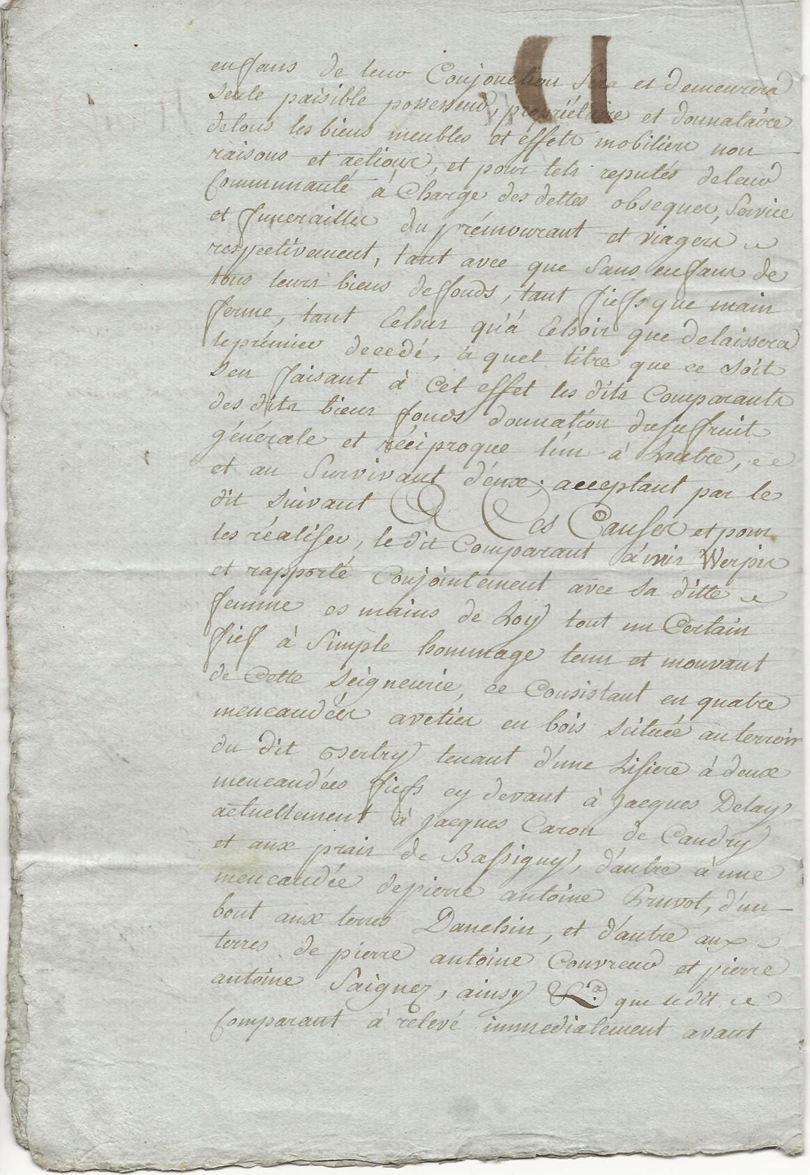 1788 contrat mariage seraphin taine x anne leduc 002