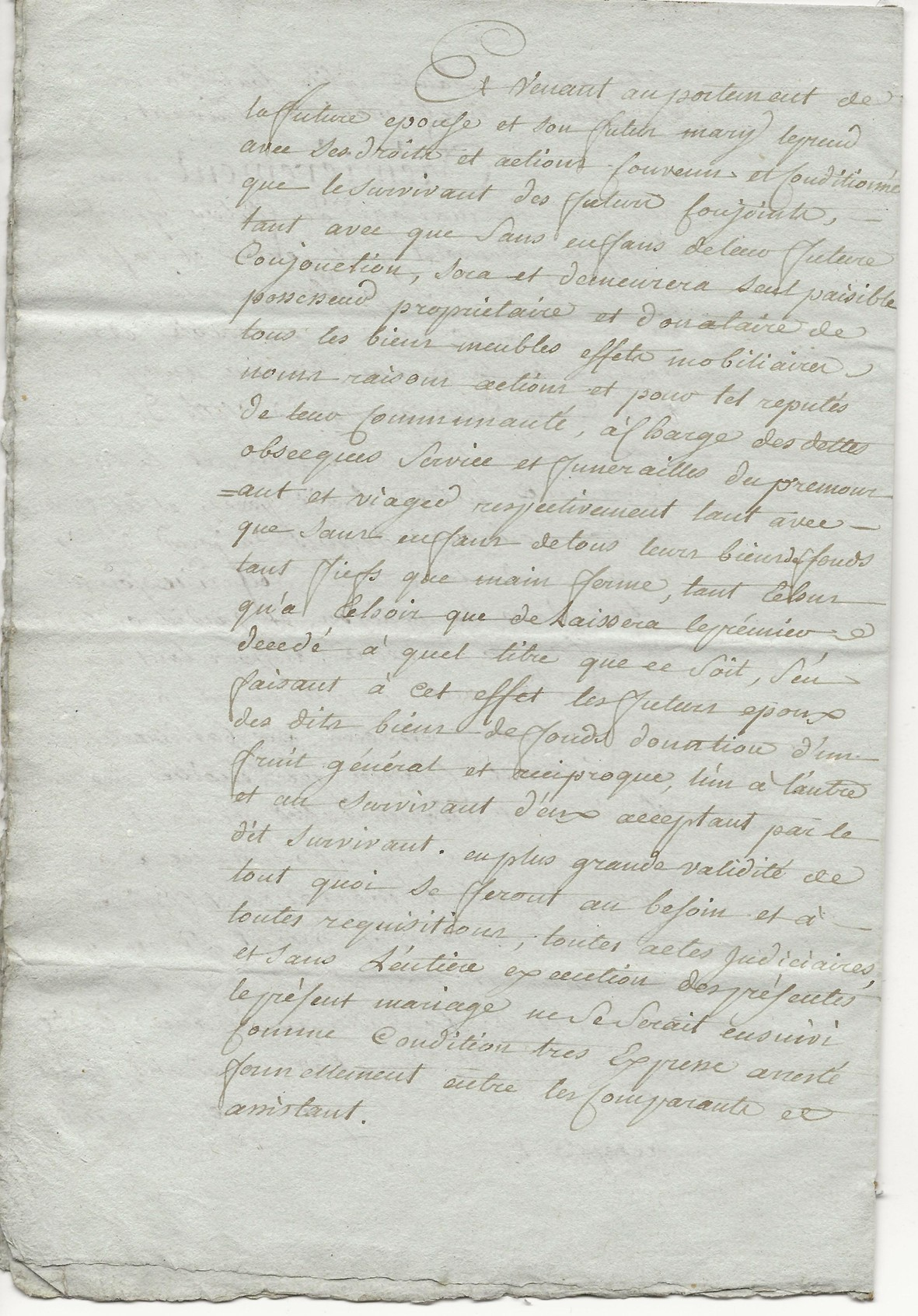 1788 contrat mariage seraphin taine x anne leduc 006