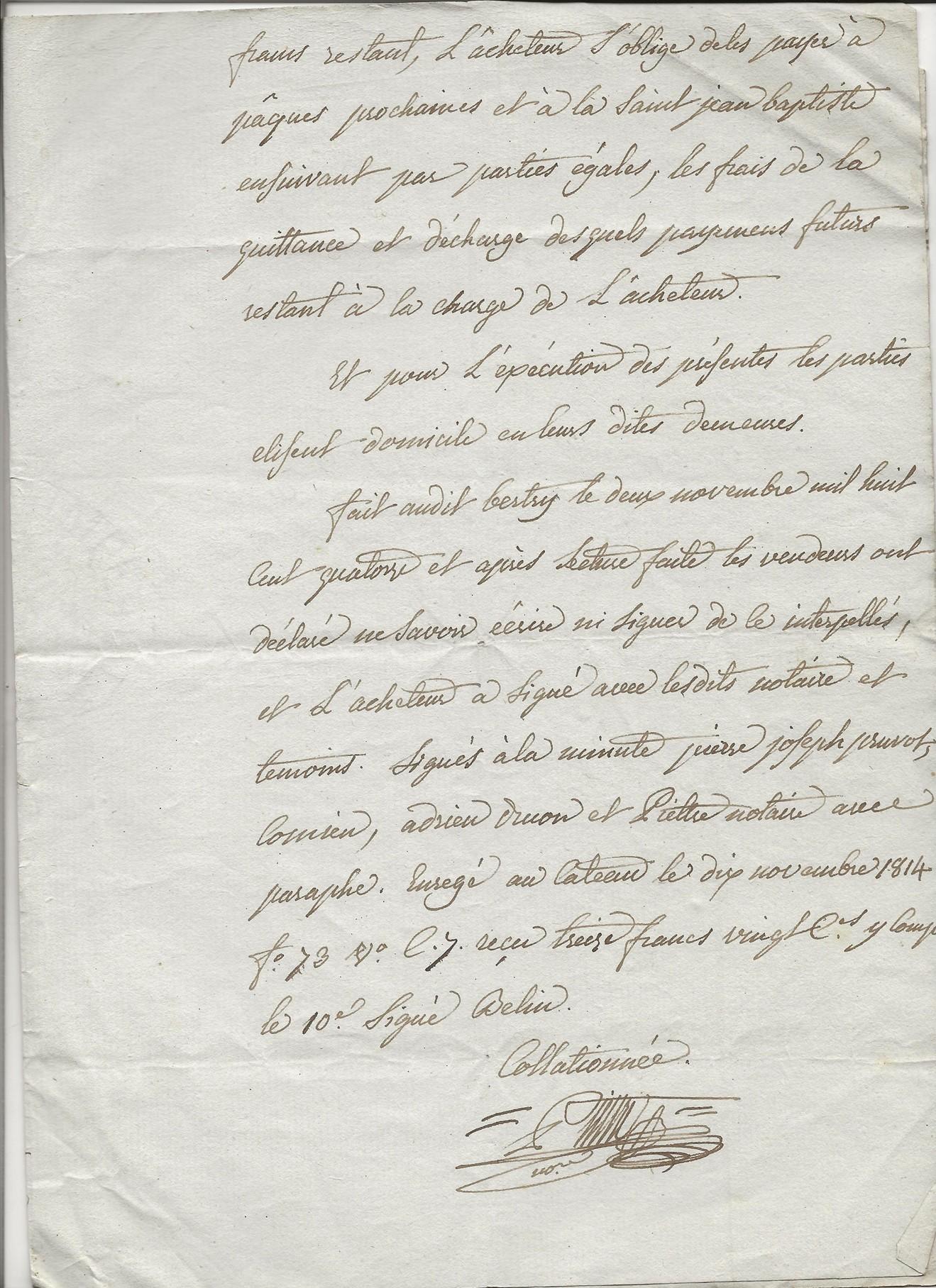 1814 vente terrains taine louvet a pierre joseph pruvot 003