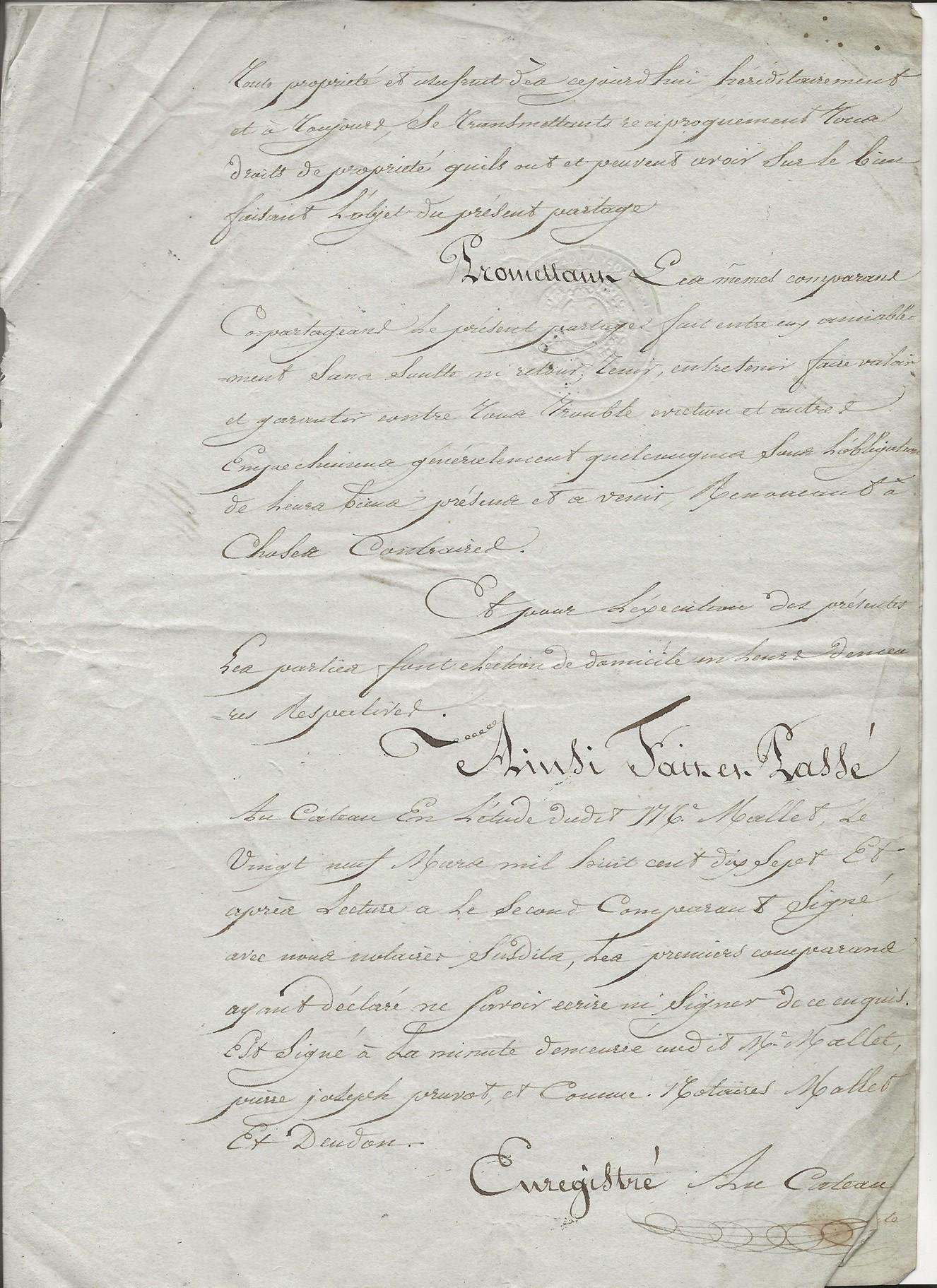 1817 partage biens antoine taine x florentine louvet 003