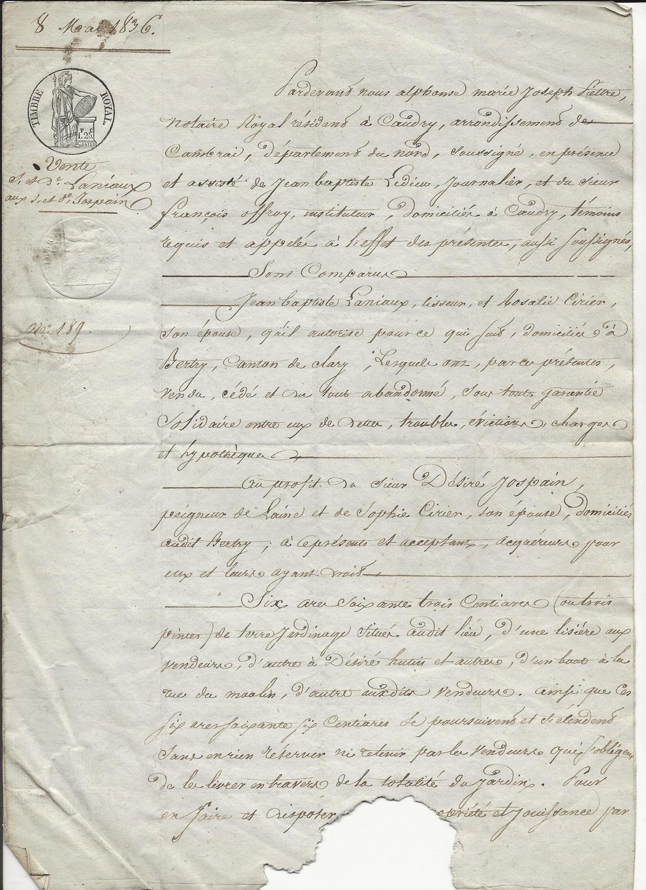 1836 vente laniaux jospin 001