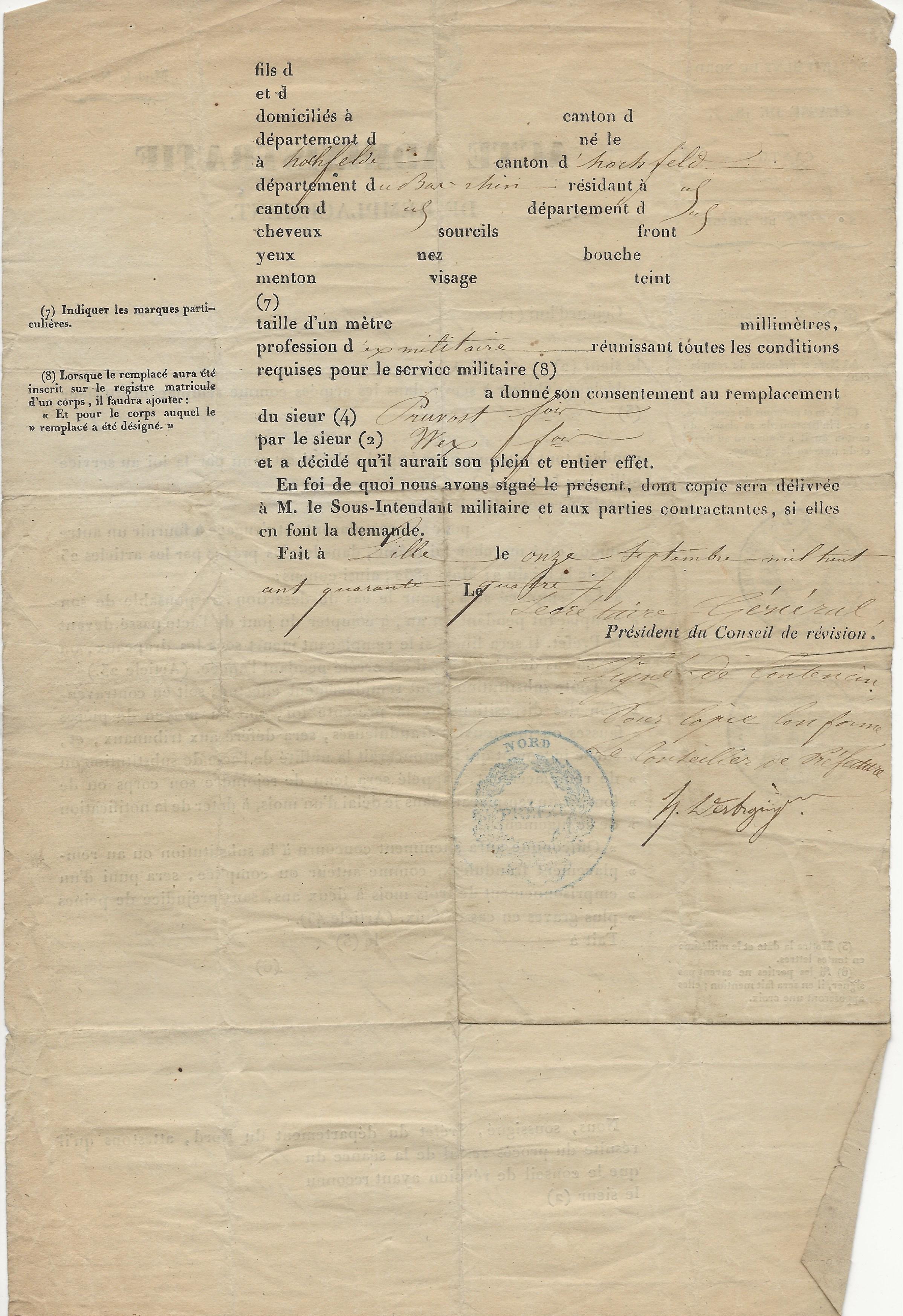 1844 acte de remplacement de francois pruvot 002