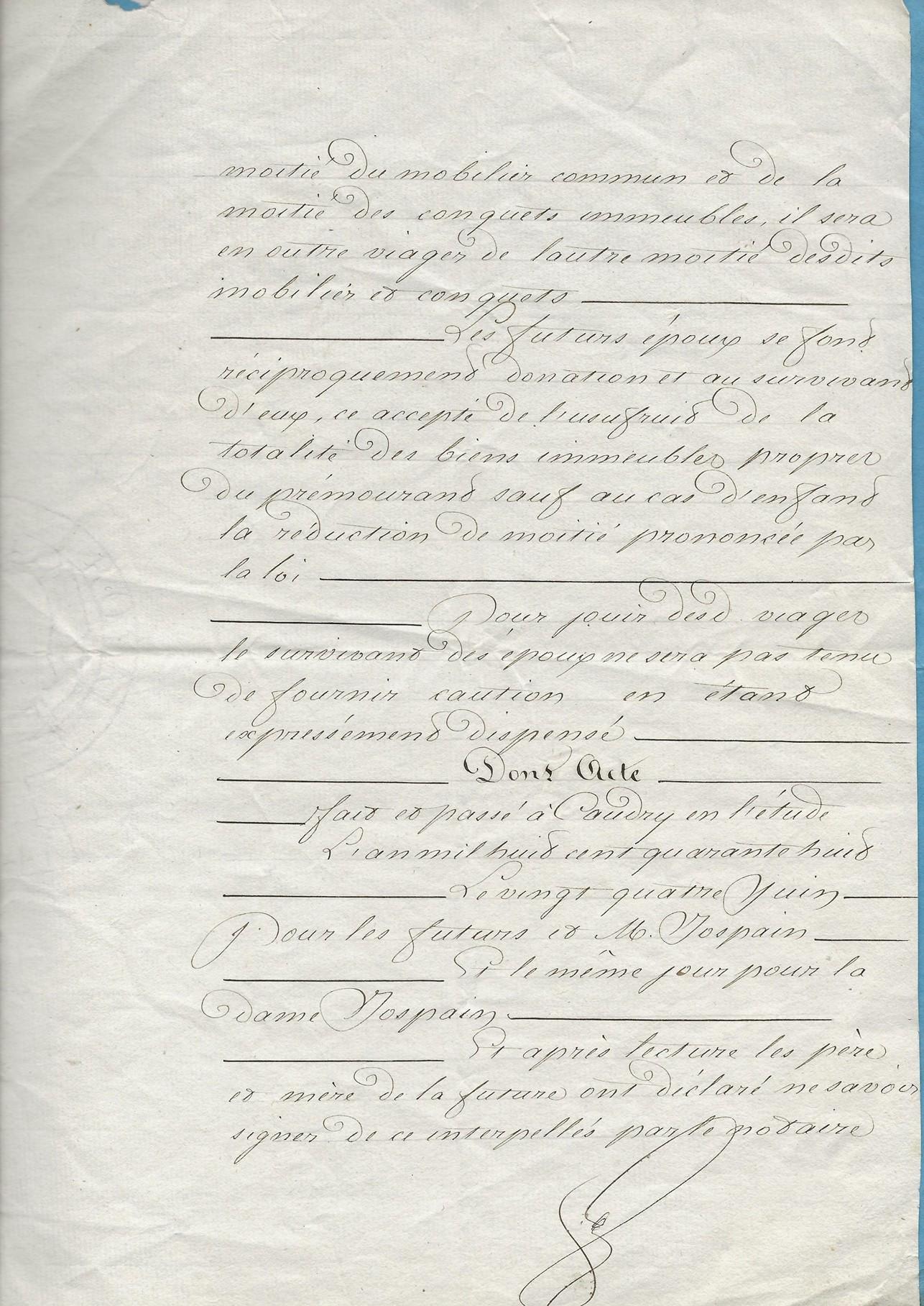 1848 mariage pruvot x jospin 003