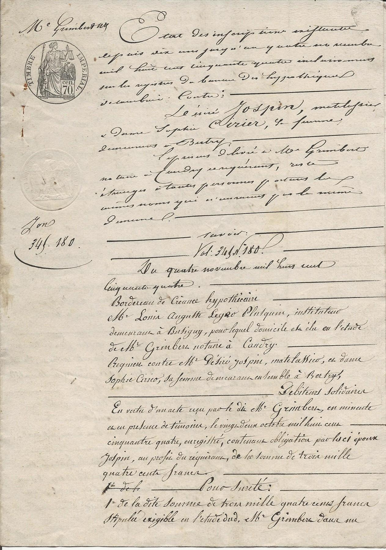 1854 creance hypothecaire contre couple jospin ciriez 002