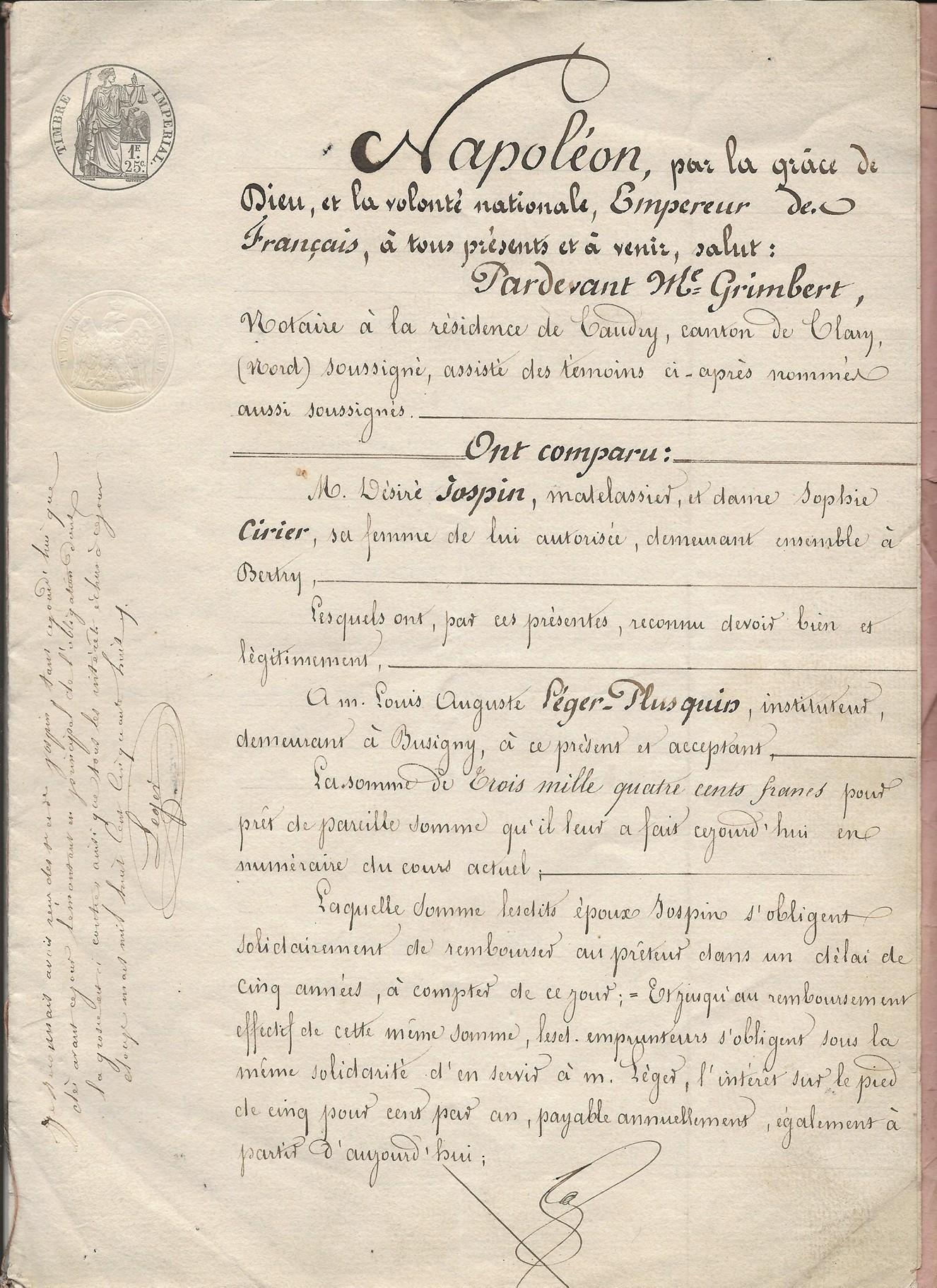 1854 emprunt hypothecaire jospin a leger plusquin 001