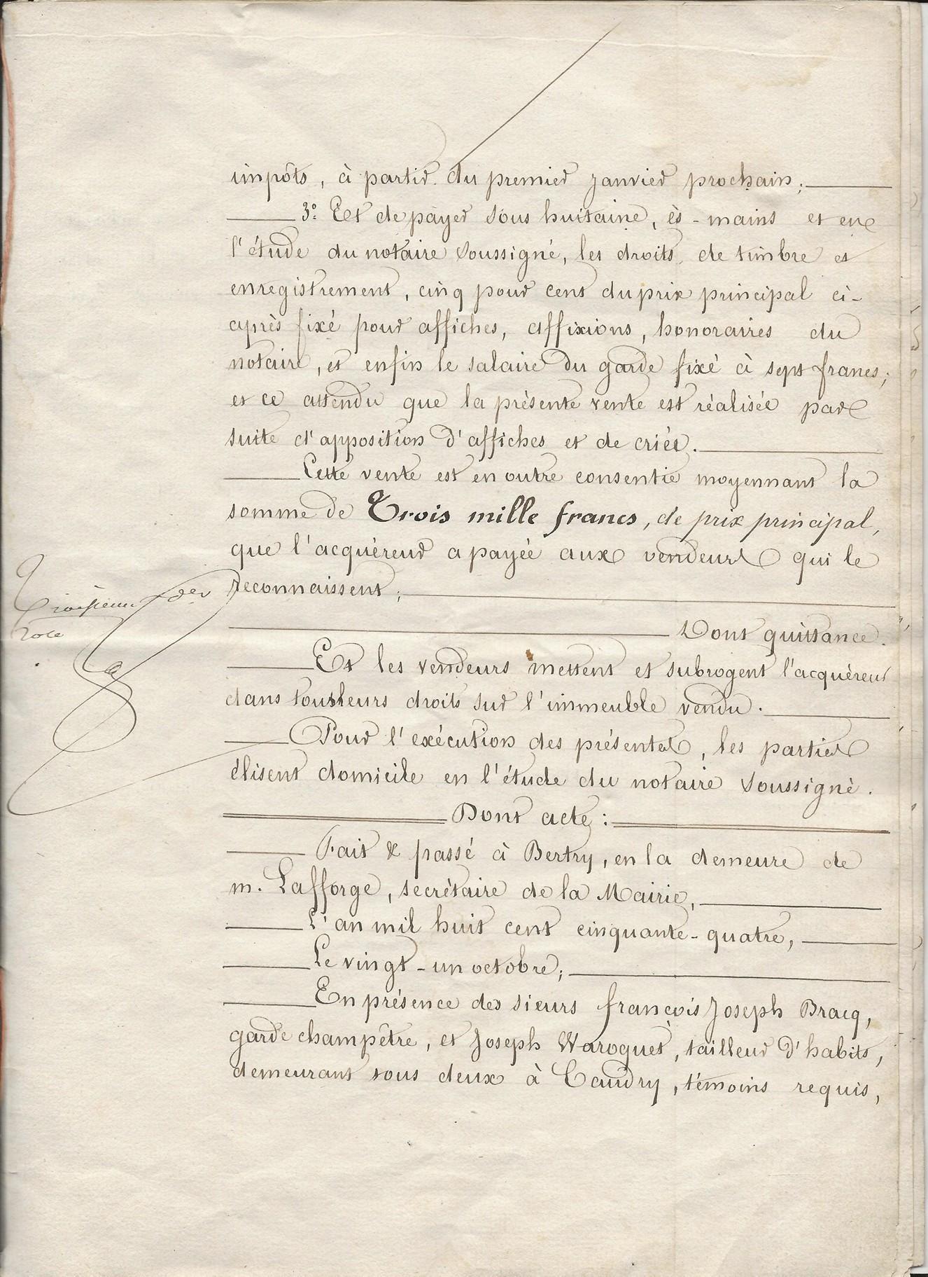 1854 vente vve et heritiers poulain a jospin 005