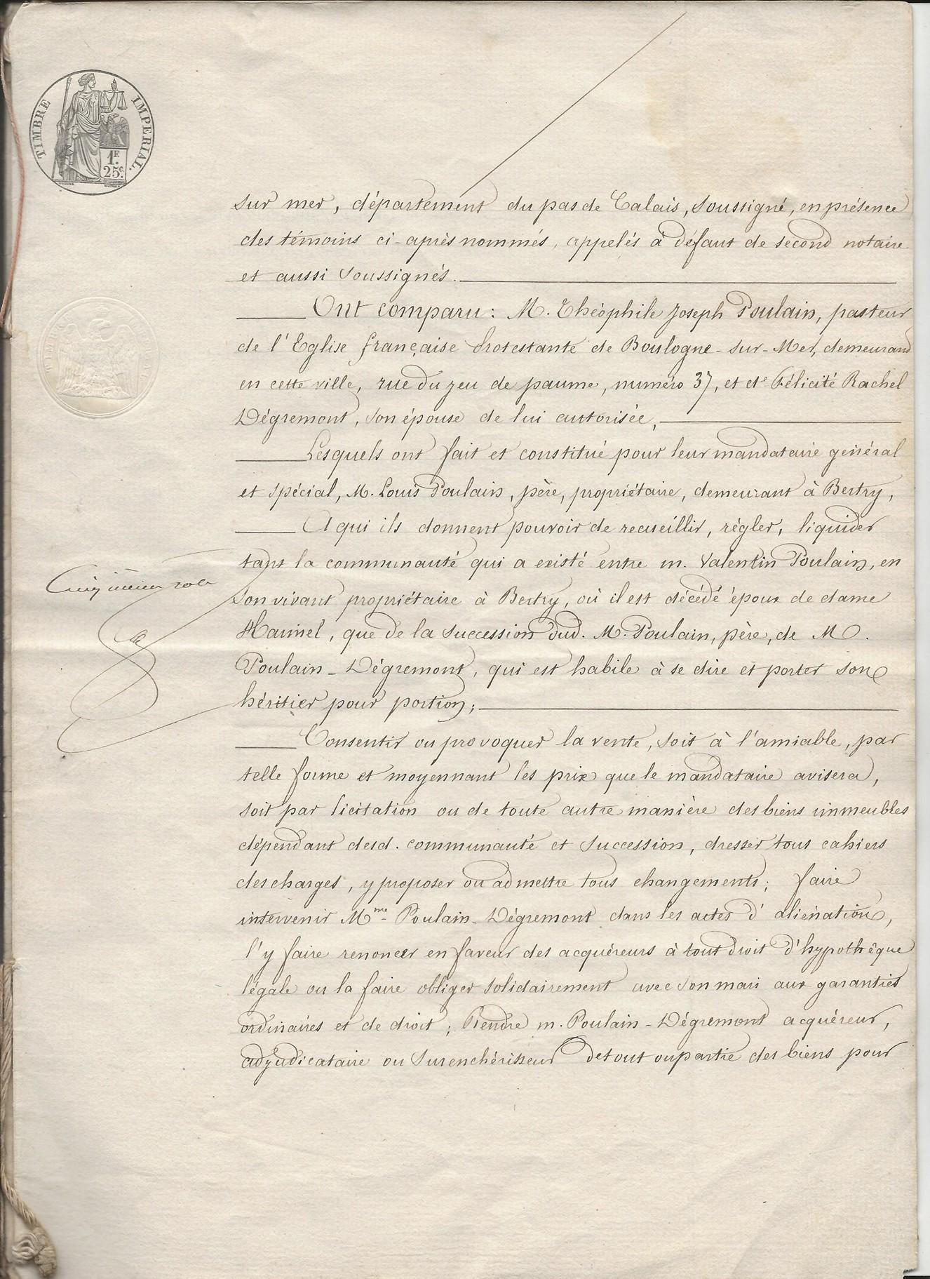 1854 vente vve et heritiers poulain a jospin 009