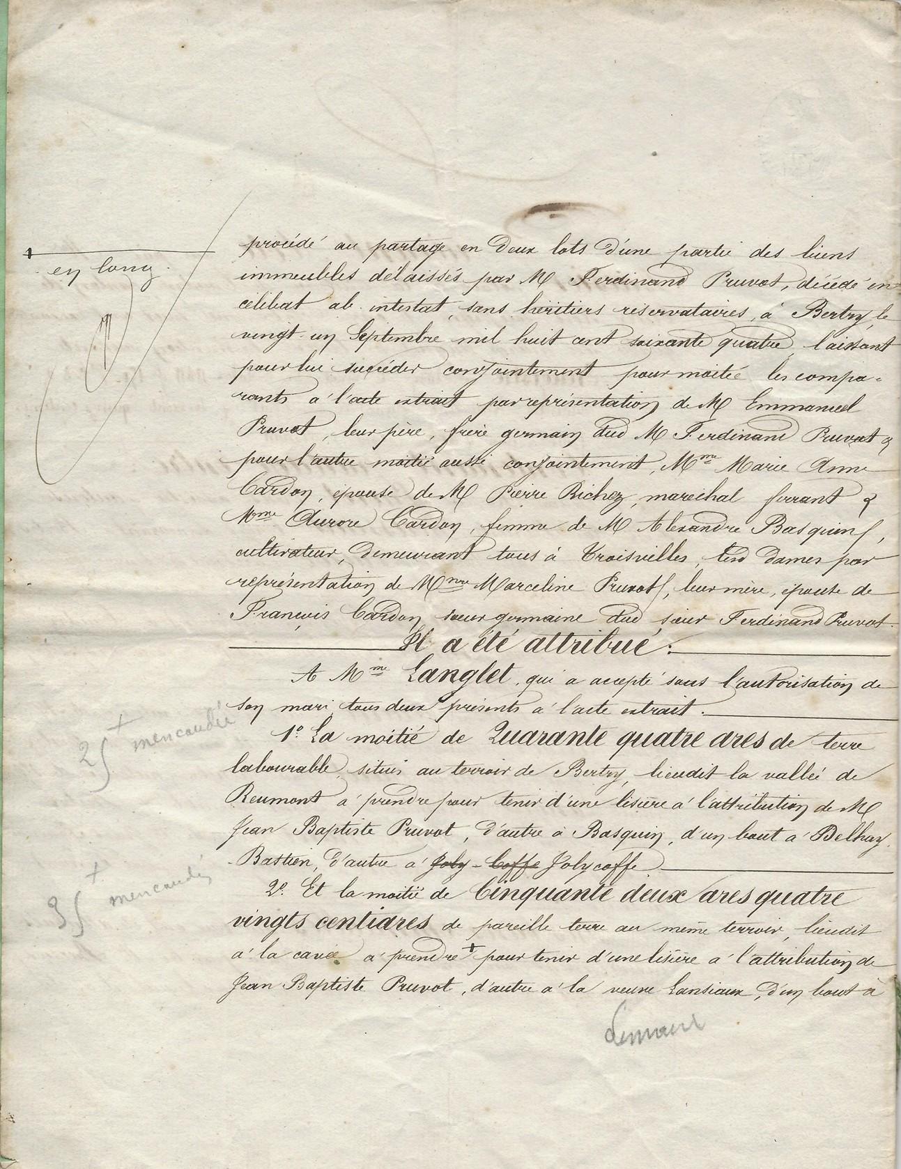 1864 succession partage de ferdinant pruvot 002