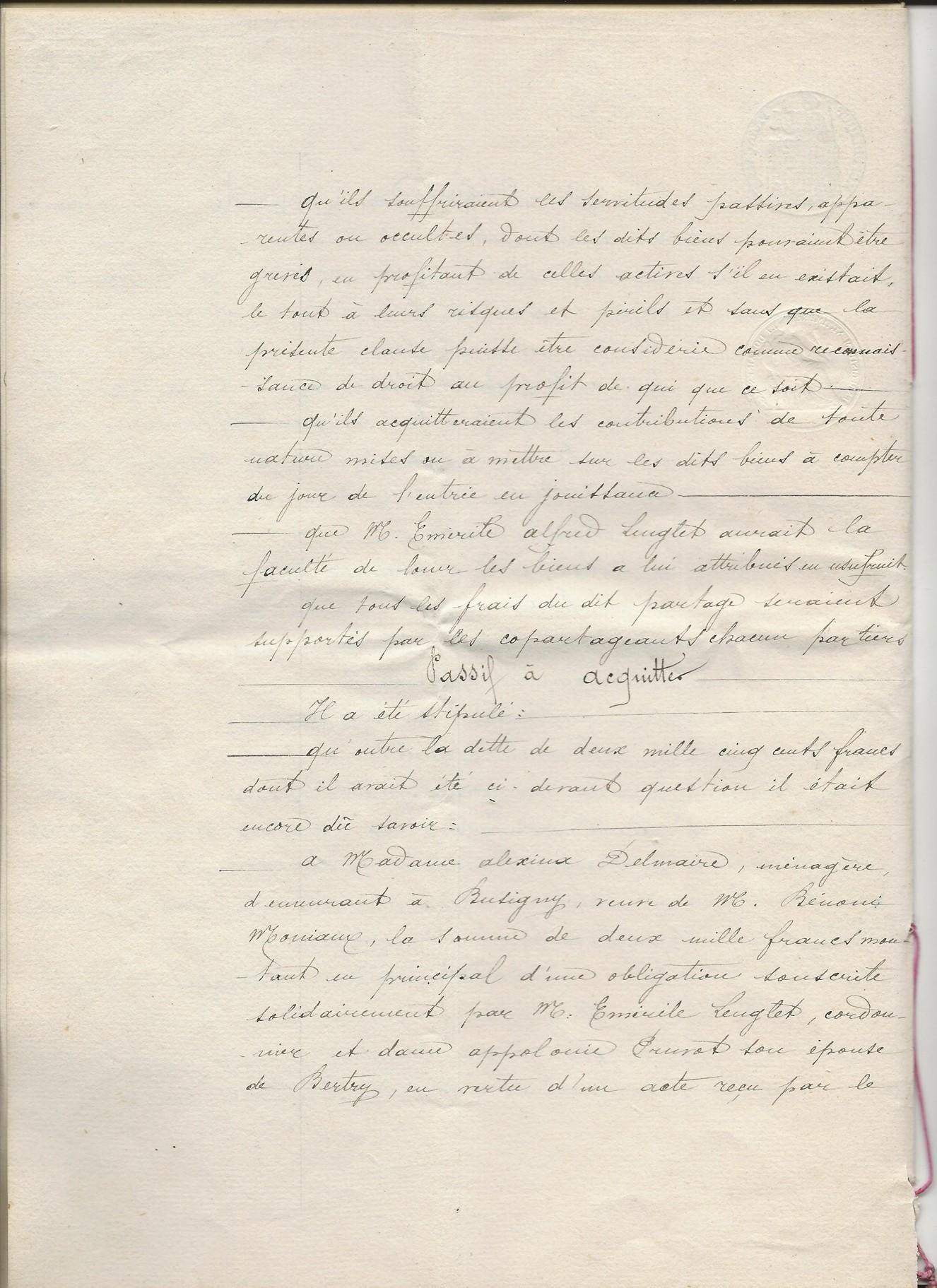 1889 succession de appolonie pruvot epouse lenglet emerile 004