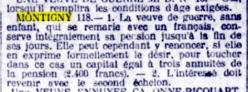 1921 montigny remariage