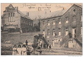 59 bertry place de la mairie vieille carte postale