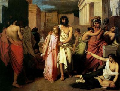 Antigone et oedipe