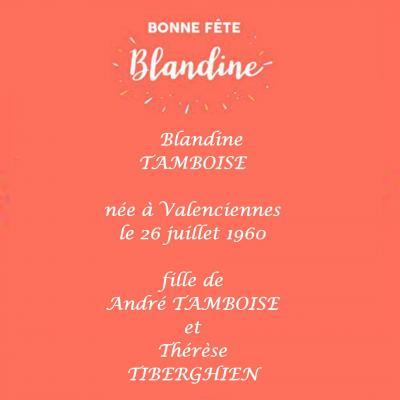 Blandine fete