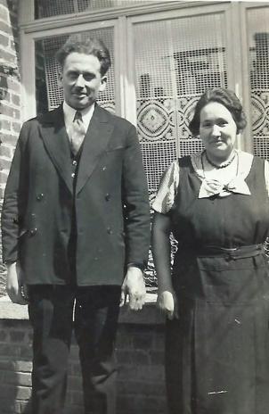 Charles Delepine  et Stuarde Lecerf