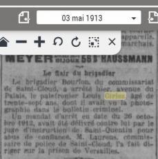 Ciriez louis arrete le 03 05 1913