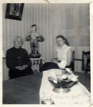 Claudette et Felicie Delépine Richard.