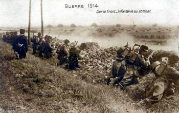 Combat 364e ri octobre 1914