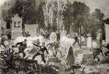 Combats pere lachaise commune 1871