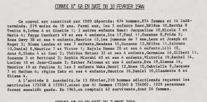 Convoi 68 du 10 fevrir 1944
