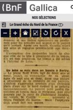 Coupure presse deces noel fruit 1906