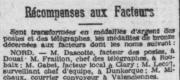 Dascotte celestin facteur en 1909