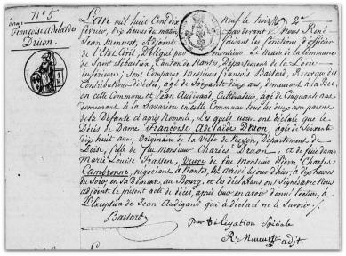 Deces francoise druon 1819