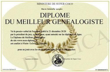 Diplome genealogiste