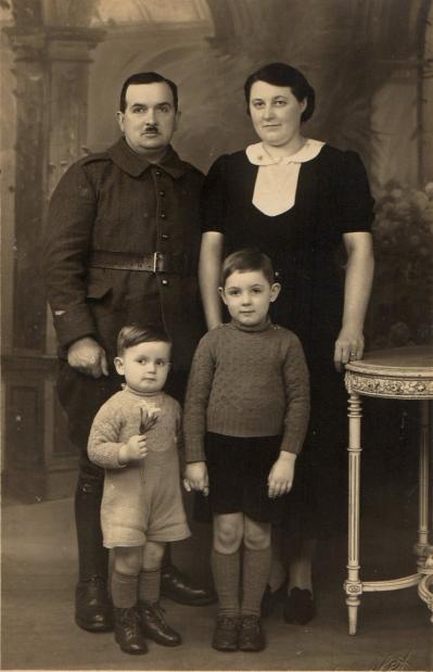 Emilien alfreda et les enfants 1939