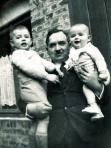 Emilien et ses 2 fils 1938