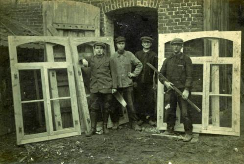 Emilien travail maretz 1923