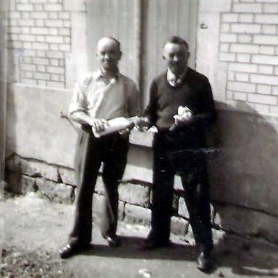 Eugene et jean baptiste les 2 freres