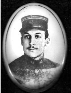 Eugene Halle militaire 1915