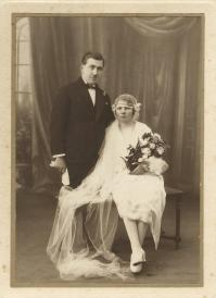 Eugene Noyelle Irene Douay mariés