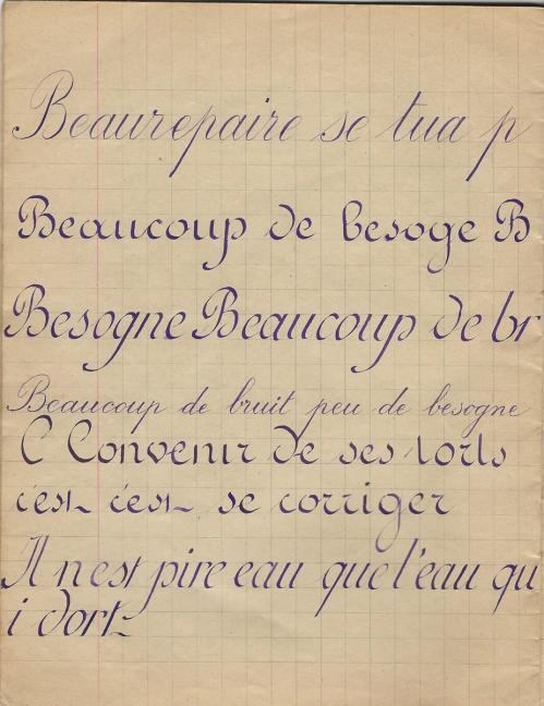 Exercice calligraphie 002