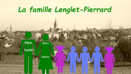 Famille lenglet pierrard