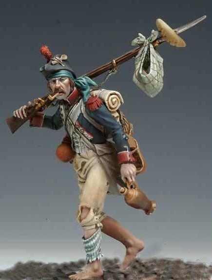 Figurine miniature guerre napoleon