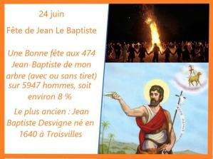 Jean baptiste 24 juin