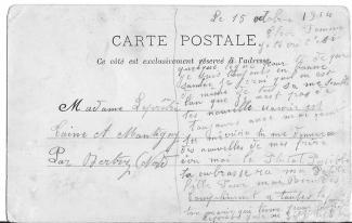 Jules a epouse 15 10 1914