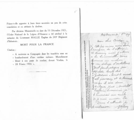 Legion d honneur 1925 halle eugene4