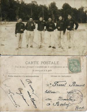 Leonard carte postale 1905