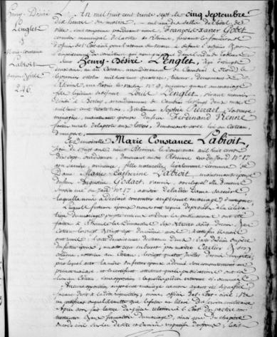 M lenglet henri desire x labioit 1837