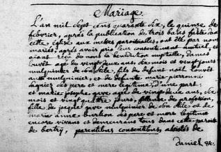 M louvet damas x gave 1746