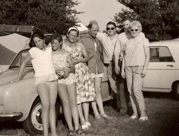 Evariste Marie Nicole en vacances avec la famille