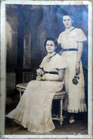 Marcelle et berthe 1er bal 1939