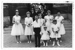 Mariage d fruit demoiselles honneur