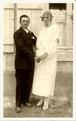 Mariage jb wanecq 1924