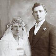 Mathilde et maurice lefort maries