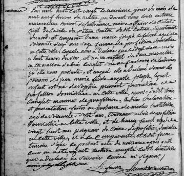 N langlet jean marie fidele auguste 1820